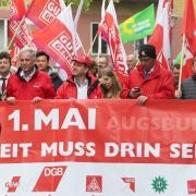 Maikundgebung, 1. Mai, Demonstrationszug