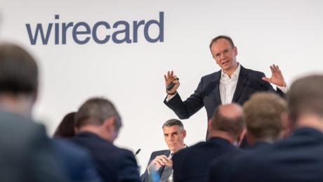 Markus Braun, Vorstandsvorsitzender von Wirecard, spricht auf der Bilanz-Pressekonferenz des Zahlungsdienstleisters auch über Fehler des Unternehmens.