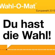 Banner Wahl-O-Mat Europawahl 2019