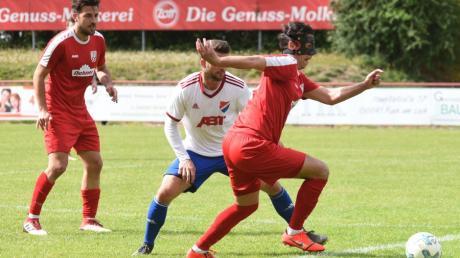 Fußball Bayernliga Süd. TSV Rain / Lech spielt gegen TSV Kottern.
