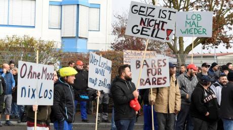 Bei Wanzl in Leipheim und in Kirchheim wird gestreikt.