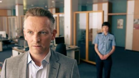 """Barry Atsma als Maarten Jansen überzeugt die Kritiker: Szene aus dem Frankfurt-Tatort """"Das Monster von Kassel""""."""