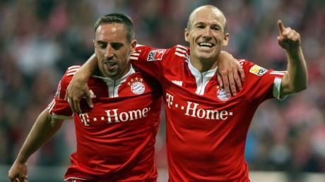 """Die Geburtsstunde von """"Robbery"""" war ein 3:0-Heimerfolg gegen Wolfsburg. Nach 183 gemeinsamen Spielen und 19 Titeln ist die Ära beendet."""