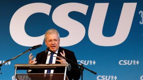 Der CSU Europa-Abgeordnete Markus Ferber sorgte mit einer Rede für Aufsehen.
