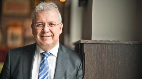 Markus Ferber (CSU) aus Augsburg zieht erneut ins Europaparlament ein.