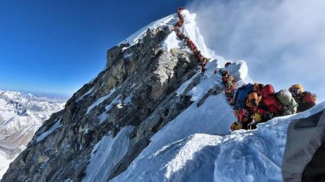 In dieser Saison gab es bereits 11 Tote auf dem Mount Everest.