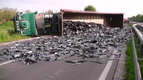 Unfall Lkw Schrott B2
