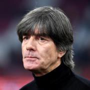Bundestrainer Joachim Löw kann das DFB-Team wegen der Folgen eines Sportunfalles in der EM-Quali nicht betreuen. Foto: Federico Gambarini