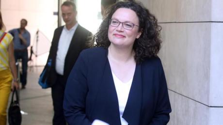 Andrea Nahles wird auch ihr Bundestagsmandat niederlegen und sich damit komplett aus der Bundespolitik zurückziehen. Foto: Wolfgang Kumm