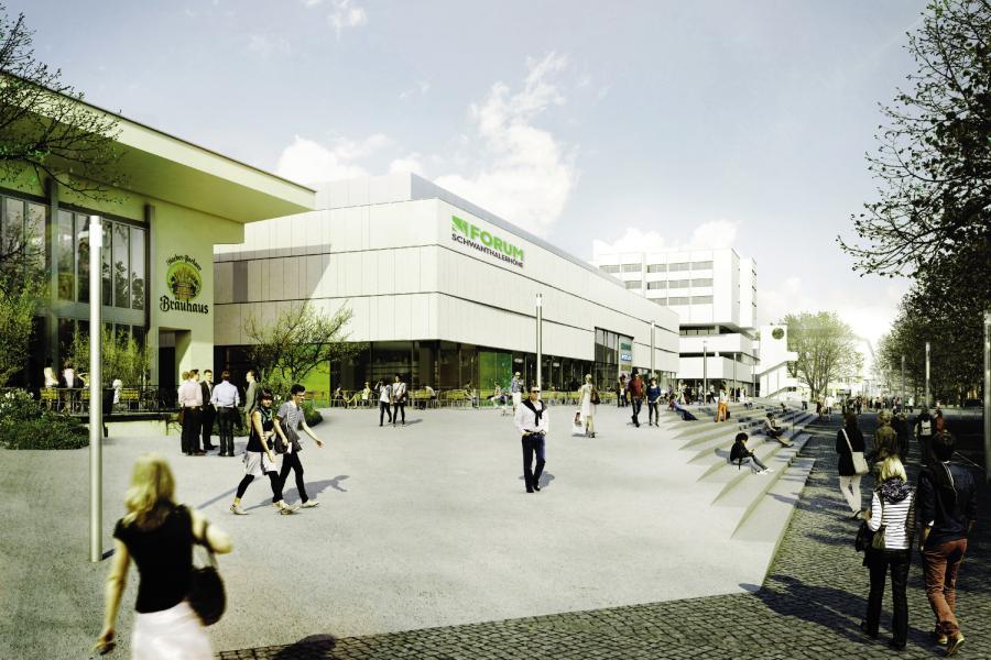 einkaufszentrum theresienhöhe