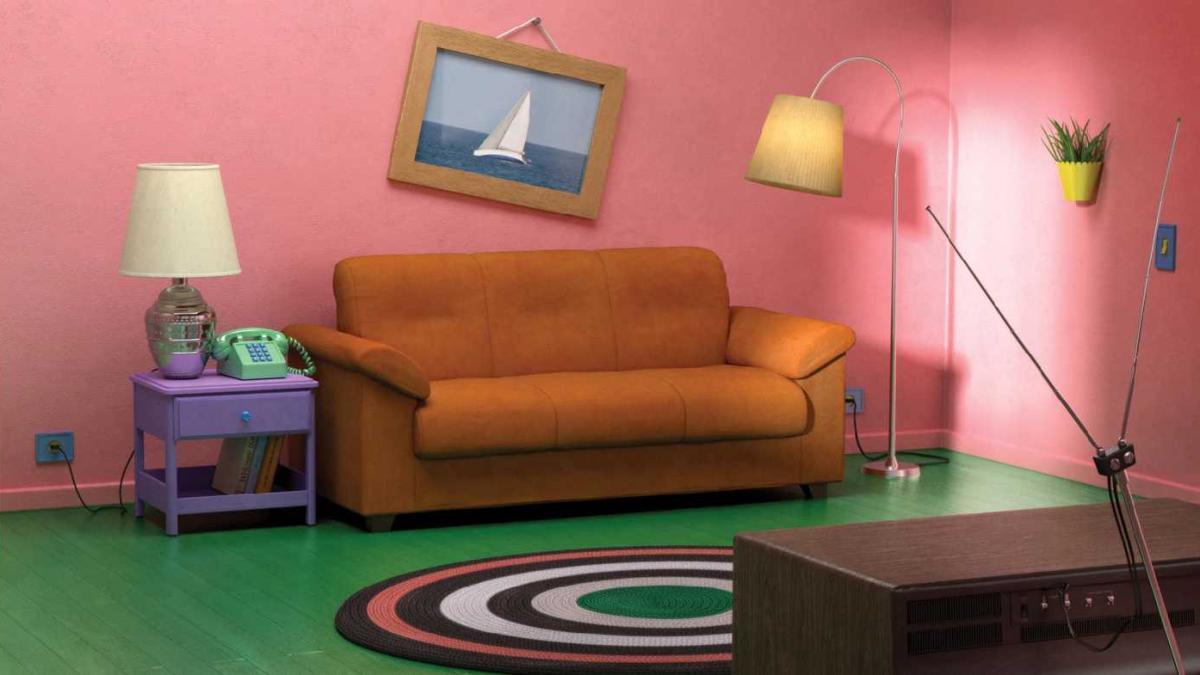 Wohnen wie die Simpsons: Ikea stellt berühmte Serien-Wohnzimmer nach
