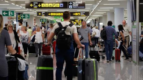 Tourismus auf Mallorca - Flughafen