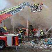 Brand in Bächingen an der Brenz