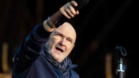 """Phil Collins hat seine Tour """"Still Not Dead Yet"""" genannt."""