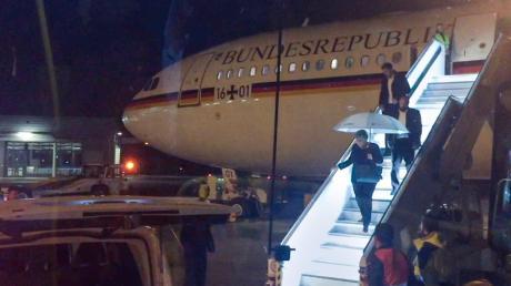"""Der Kanzlerinnenflieger """"Konrad Adenauer"""" funktioniert nicht immer problemlos. Deswegen reist Angela Merkel nun mit zwei Maschinen nach Osaka zum G20-Gipfel."""