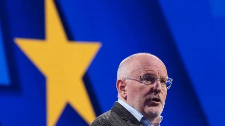 Wird Sozialdemokrat Timmermans Nachfolger von Juncker? Der EU-Sondergipfel muss entscheiden.