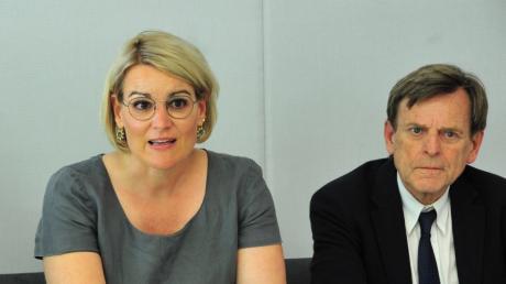 Eva Weber tritt als Spitzenkandidatin bei der Wahl 2020 an.