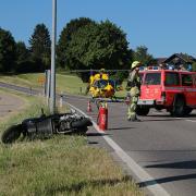 Unfall Günzburg Weißenhorner Straße Roller 04072019 2.JPG