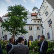 Das Kloster Wettenhausen bot wieder den besonderen Rahmen für den Empfang.