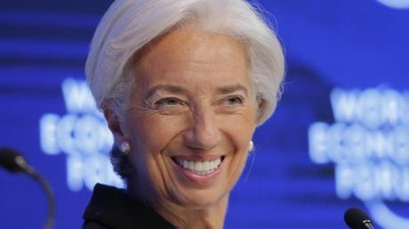 Christine Lagarde, die Direktorin des Internationalen Währungsfonds, soll Mario Draghi an der Spitze der Europäischen Zentralbank (EZB) nachfolgen. Foto: Michel Euler