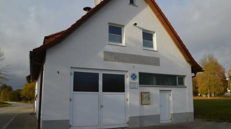 Die drei Syrgensteiner Ortsfeuerwehren (im Bild das Gerätehaus in Syrgenstein) bekommen ein neues, gemeinsames Gerätehaus.