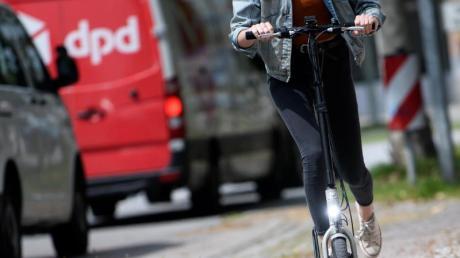 Fehlen nur vernüftige Verkehrswege: Probefahrt mit einem «Metz Moover». Foto:Sven Hoppe