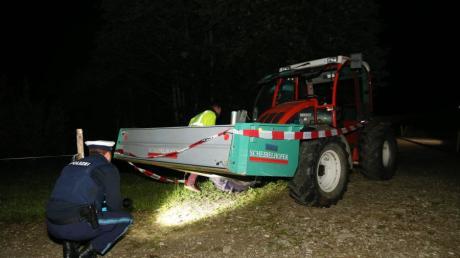 Bei einem Unfall bei  Balderschwang wurden im Juli 2019 zwei Kinder von einem Traktor überrollt und getötet.
