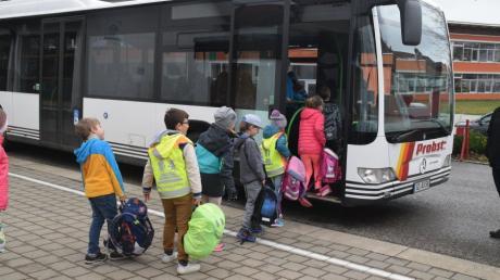 Filmdreh Busfahren Ichenhausen