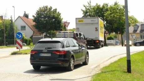 Rat Gemeinderat Affing, Mühlhausen Gewerbegebiet Unkreuthweg Ortsdurchfahrt