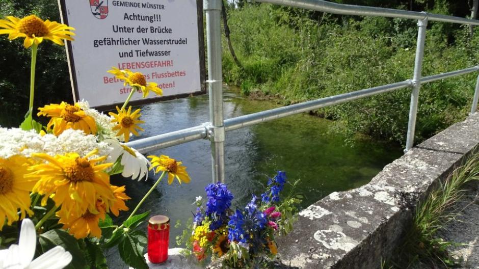 Brücke Münsterer Alte Lech