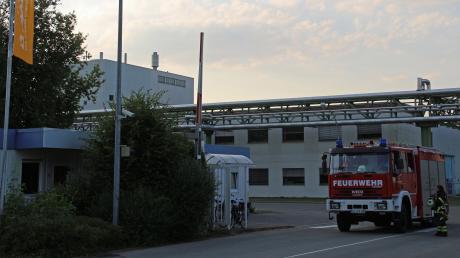 Im Werk Illertissen der BASF in Illertissen ist es am Mittwochabend gegen 19 Uhr zu einem Brand in einer Produktionsanlage gekommen.