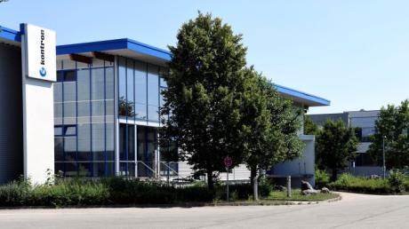 Das Augsburger Unternehmen Kontron ist weltweit aktiv. Seinen Hauptsitz hat es in der Lise-Meitner-Straße.