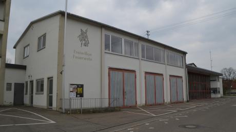 Das alte Feuerwehrgerätehaus in Gundelfingen.
