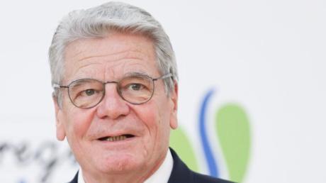 Der ehemalige Bundespräsident Joachim Gauck.