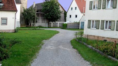Balzhausen - Nicht fertige Straße 8-19