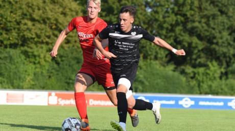 Fußball KL Nord. SV Wörnitzstein spielt gegen SpVgg Altisheim/ Leithem.