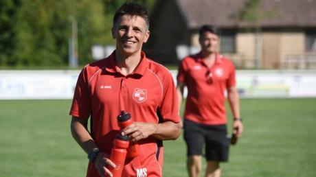 Fußball KL Nord. TSV Hainsfahrth spielt gegen SpVgg Riedlingen.