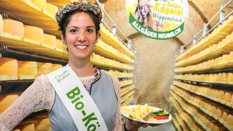 Carina Bichler aus Salgen ist bayerische Bio-Königin.