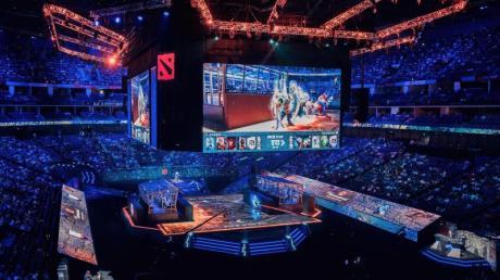 The International 2019 ist die Weltmeisterschaft in Dota 2. Foto: Valve