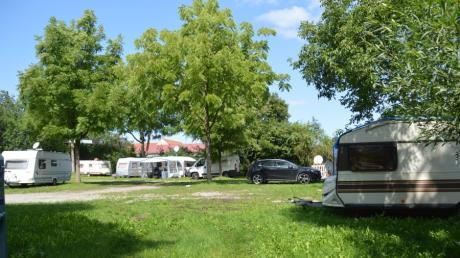 Urlaub mit Wohnwagen oder -mobil liegt im Trend. Auch der Campingplatz an der Donau in Dillingen spürt ein erhöhtes Gästeaufkommen.