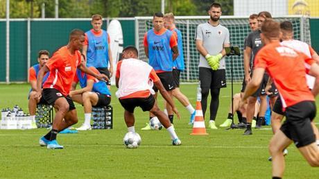 Neuzugang Felix Uduokhai FCA, Training, FC Augsburg,