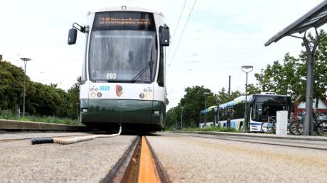 Die Linie 3 soll ab 2021 nach Königsbrunn fahren.