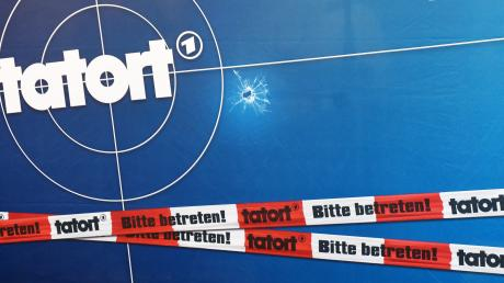 So bekannt wie die Krimis selbst: das Tatort-Logo.
