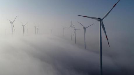 Windenergie-Gipfel: Bund und Länder wollen Maßnahmenpaket zum Ausbau der Windenergie erarbeiten. Foto: Patrick Pleul/zb