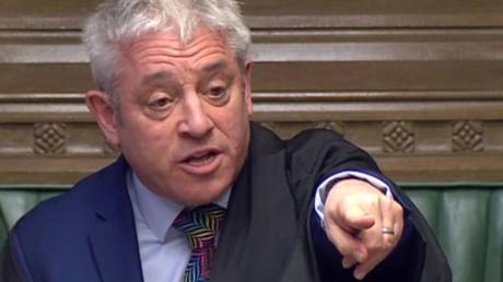 Der frühere Parlamentspräsident John Bercow wurde im Brexit-Streit weltbekannt.