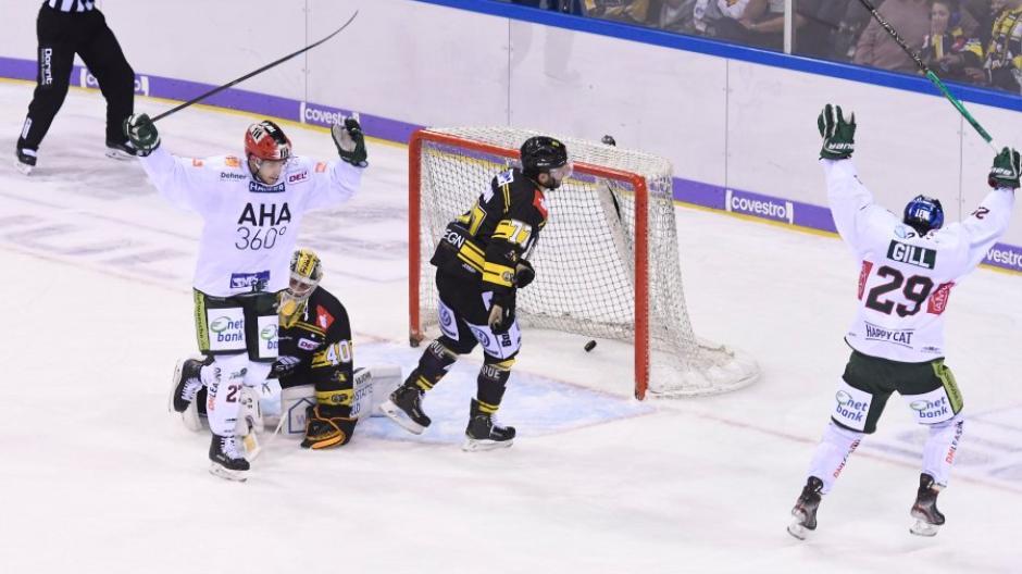 DEL - 19/20 - Krefeld Pinguine vs Augsburger Panther