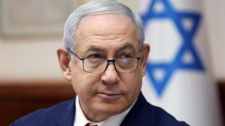 Premierminister Benjamin Netanjahu während einer der wöchentlichen Kabinettssitzungen in Jerusalem.Foto: Abir Sultan/Pool European Pressphoto Agency