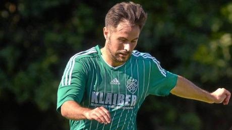 Burlafingens Spielertrainer Florian Peruzzi.