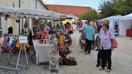 Tausende Besucher kamen 2018 auf den Roggenburger Ökomarkt.