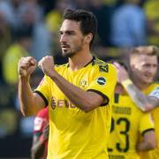 Mats Hummels will mit dem BVB auch in Frankfurt jubeln. Foto: Bernd Thissen